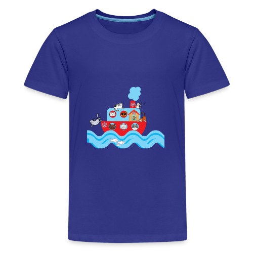 CATS ON VACATION for Kids - Kids' Premium T-Shirt