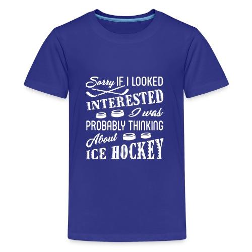 Ice Hockey - Kids' Premium T-Shirt