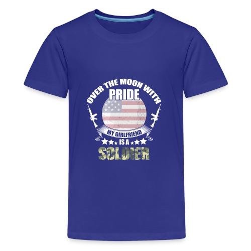 Great Gift For Soldier Girlfriend. Shirt From men - Kids' Premium T-Shirt
