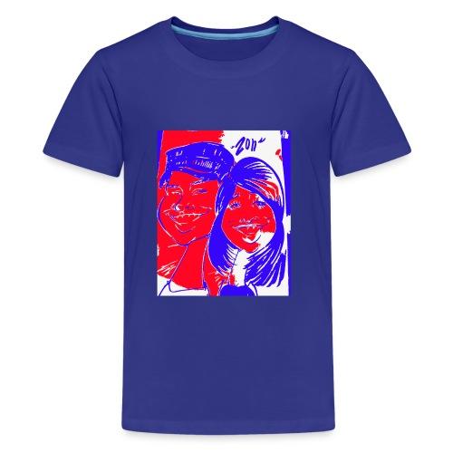 Happy Couple by Zon - Kids' Premium T-Shirt