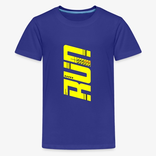 Dad Runner perfect gift for fathers day Marathon - Kids' Premium T-Shirt