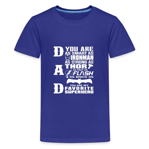 Dad Superhero Dad Gifts For Father s Day - Kids' Premium T-Shirt