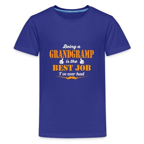 Being Grandgramp is best job ever - Kids' Premium T-Shirt