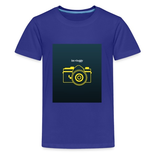 im vloggy - Kids' Premium T-Shirt