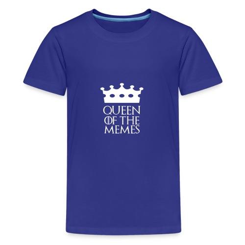 Queen of the Memes - Kids' Premium T-Shirt