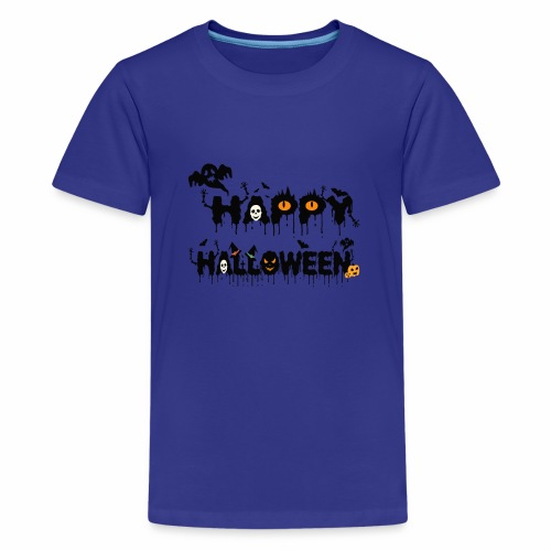 Happy Halloween T-shirt Halloween Costume Funny - Kids' Premium T-Shirt
