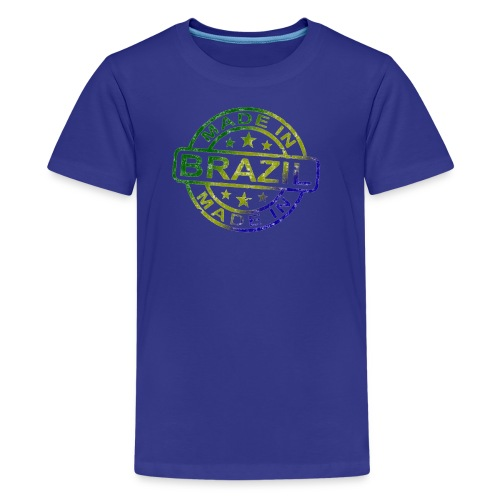 Made In Brazil - Kids' Premium T-Shirt
