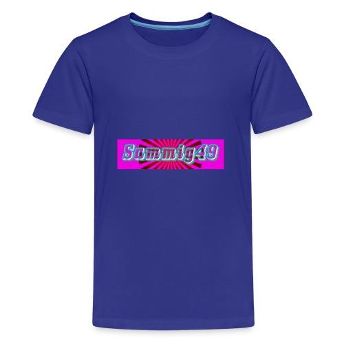 sammig49 glow - Kids' Premium T-Shirt