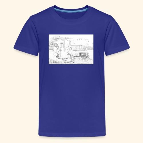 A ClassC Space - Kids' Premium T-Shirt
