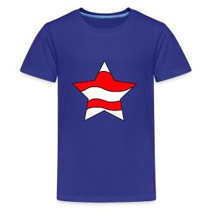 Patriot-1 Emblem - Kids' Premium T-Shirt