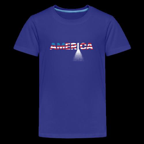 Open Door Policy - 005GS - Kids' Premium T-Shirt