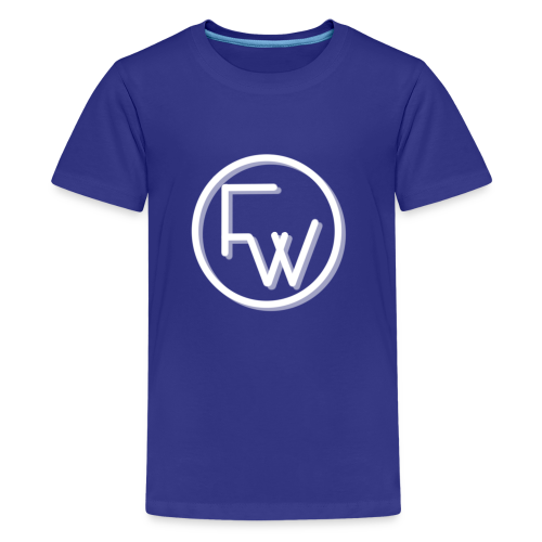 A Funny Wilson Production Logo White - Kids' Premium T-Shirt