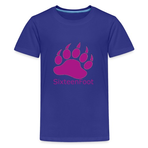 Purple_Logo - Kids' Premium T-Shirt