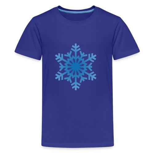 http-images-clipartpanda-com-snowflake-clipart-tra - Kids' Premium T-Shirt
