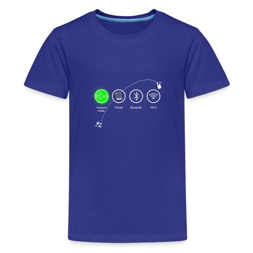 airplane_flight - Kids' Premium T-Shirt