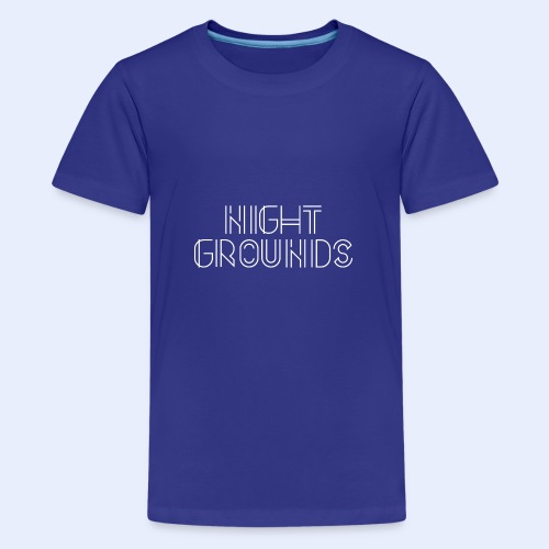 White NightGrounds Title - Kids' Premium T-Shirt