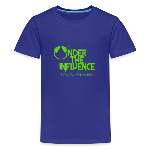 UndertheInfluenceGREEN - Kids' Premium T-Shirt