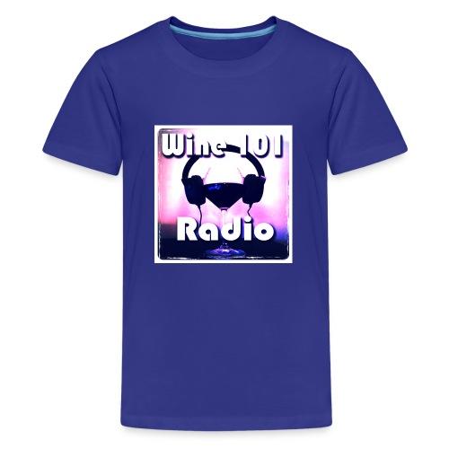 Wine 101 Radio Logo - Kids' Premium T-Shirt