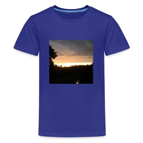 Country side sunset - Kids' Premium T-Shirt