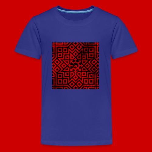 Detailed Chaos Communism Button - Kids' Premium T-Shirt