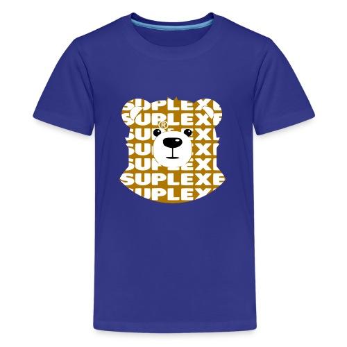 SUPLEXExBEAR GOLD TEE - Kids' Premium T-Shirt