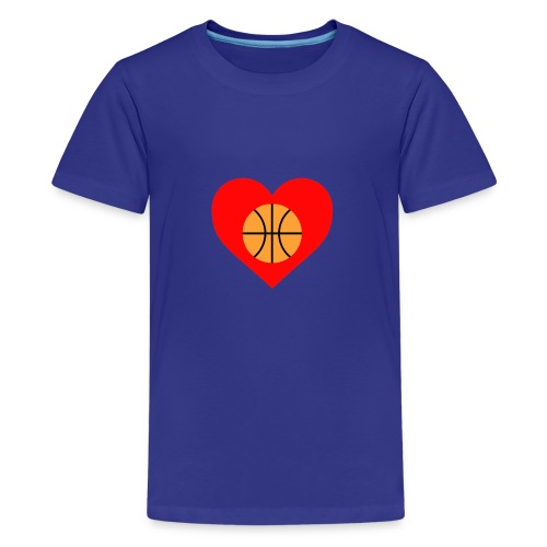 ballheartdesign - Kids' Premium T-Shirt