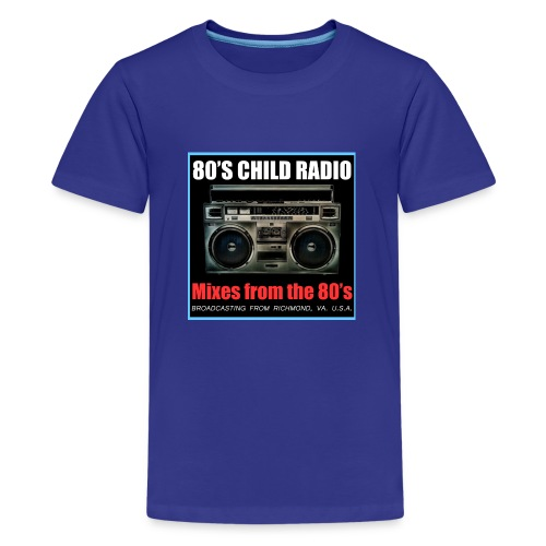 Boom Box Logo - Kids' Premium T-Shirt