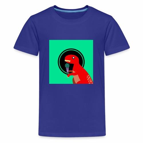 YouTube Logo 1 Merch! - Kids' Premium T-Shirt