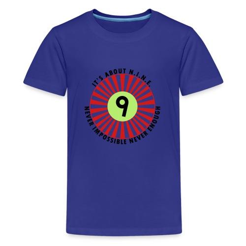 NINE Logo September 2018 - Kids' Premium T-Shirt