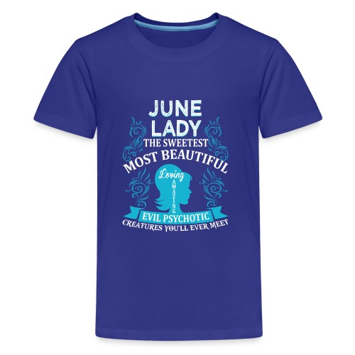 June lady - Kids' Premium T-Shirt