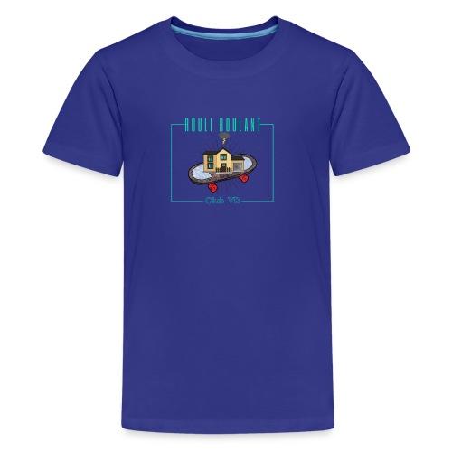 Rouli-Roulant club VR - Kids' Premium T-Shirt