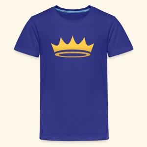 The Famous One - Crown - Kids' Premium T-Shirt