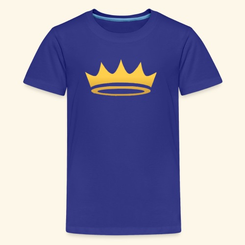 The Famous One - Crown - Kids' Premium T-Shirt