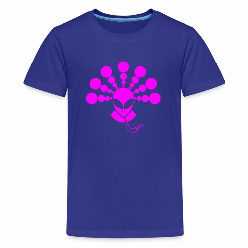 The Smoking Alien - Kids' Premium T-Shirt