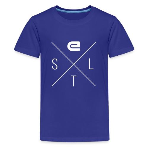 E-STL X - White - Kids' Premium T-Shirt