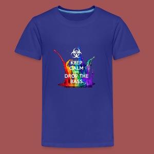 Drop The Bass - Kids' Premium T-Shirt