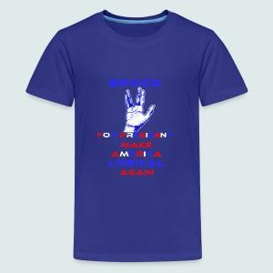 Spock for President - Kids' Premium T-Shirt