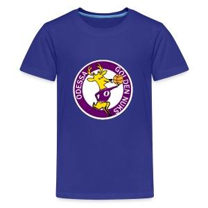 Logo White Outline - Kids' Premium T-Shirt