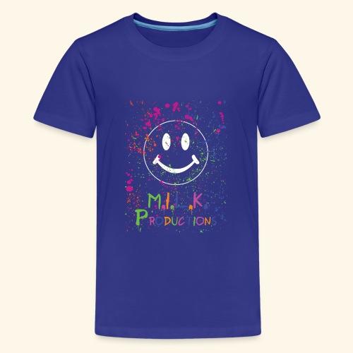 M.I.L.K. Color Splatter T-Shirt - Kids' Premium T-Shirt