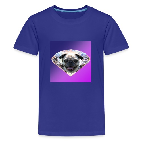 Diamond Pug - Kids' Premium T-Shirt