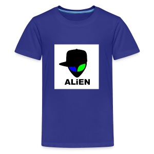 ALIEN LOGO - Kids' Premium T-Shirt