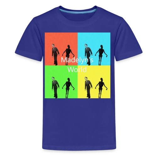 Madelyn's World - Kids' Premium T-Shirt