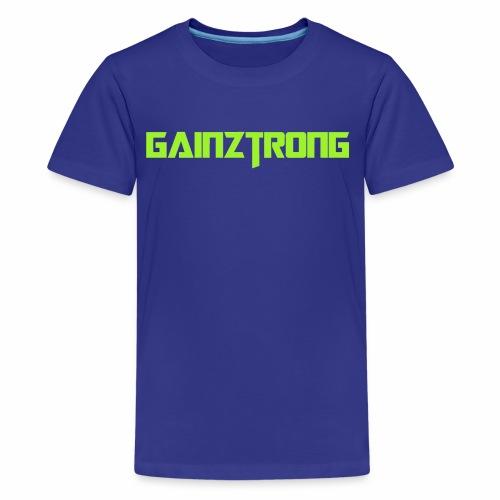 Gainztrong - Kids' Premium T-Shirt
