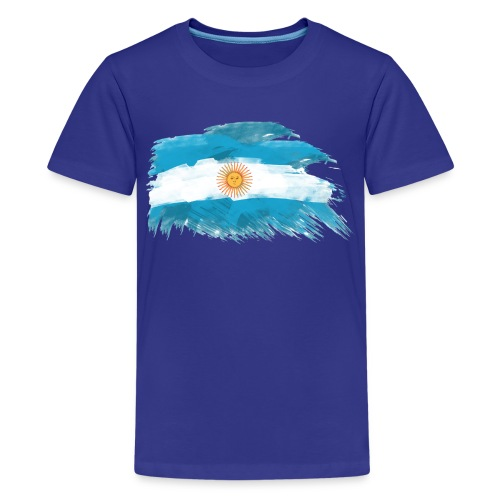 Bandera Argentina - Kids' Premium T-Shirt