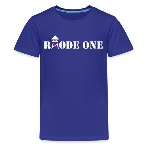 Rhode One logo - Kids' Premium T-Shirt