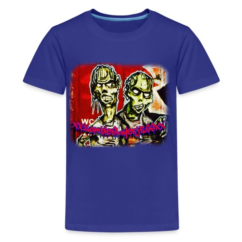 xxZombieSlayerJESSxx - Kids' Premium T-Shirt