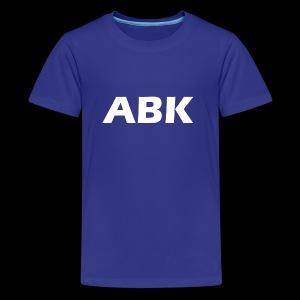 ABK White - Kids' Premium T-Shirt