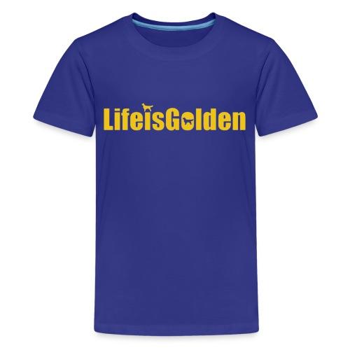 Life Is Golden official - Kids' Premium T-Shirt
