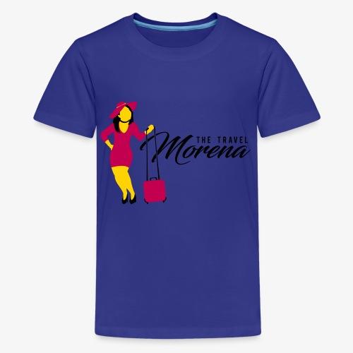 The Travel Morena - Kids' Premium T-Shirt