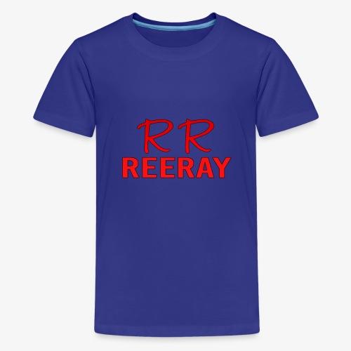 ReeRay YouTube Channel Logo - Kids' Premium T-Shirt